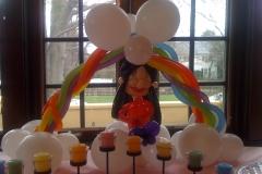 Bride Likeness with Rainbow