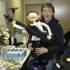 Paul McCartney Dressing Room at Superbowl XXXIX